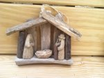 Driftwood Nativity