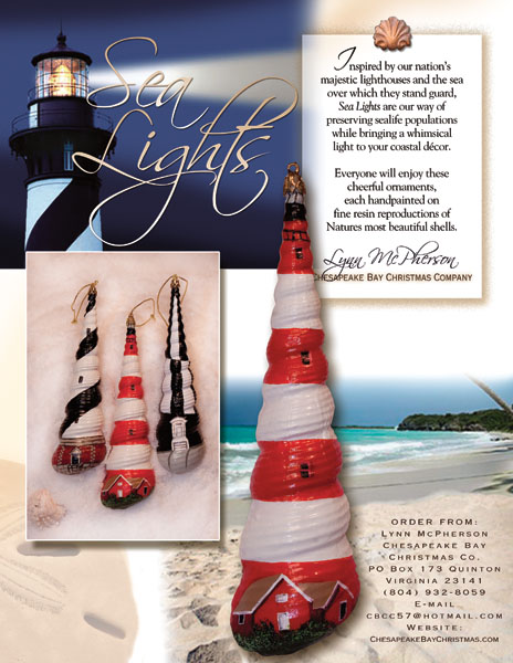 Sea Lights Lighthouse Ornaments